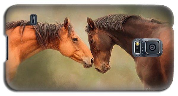 Best Friends - Two Horses Galaxy S5 Case