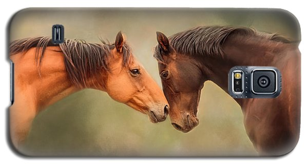 Best Friends - Two Horses Galaxy S5 Case