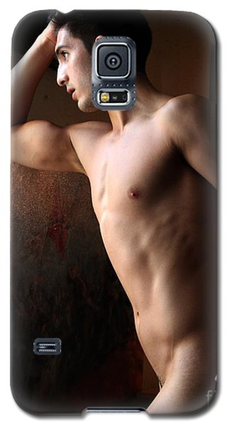 Galaxy S5 Case featuring the photograph Best Looking Man In The Room by Robert D McBain