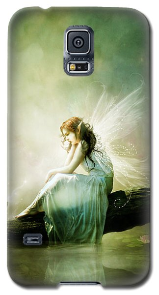 Fairy Galaxy S5 Case - Best Of Friends by Karen Koski