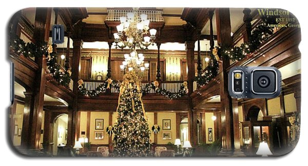 Best Western Plus Windsor Hotel Lobby - Christmas Galaxy S5 Case