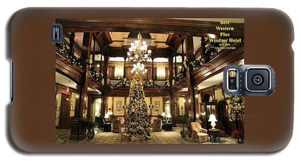 Best Western Plus Windsor Hotel Lobby - Christmas Galaxy S5 Case