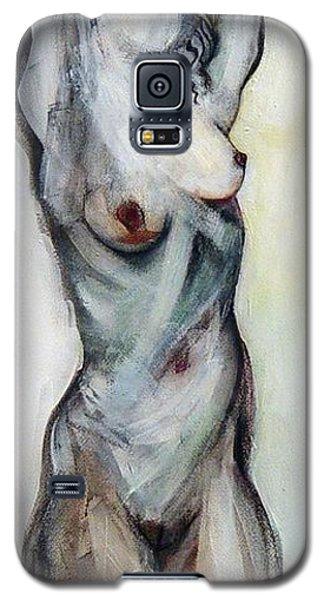 Beth Hanging - Female Nude Galaxy S5 Case
