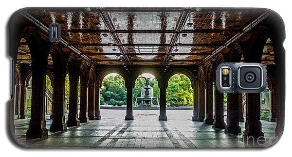 Bethesda Terrace Arcade 2 Galaxy S5 Case by James Aiken