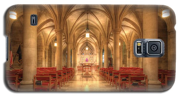Bethlehem Chapel Washington National Cathedral Galaxy S5 Case by Shelley Neff