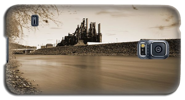 Bethlehem Steel Along The Lehigh Galaxy S5 Case