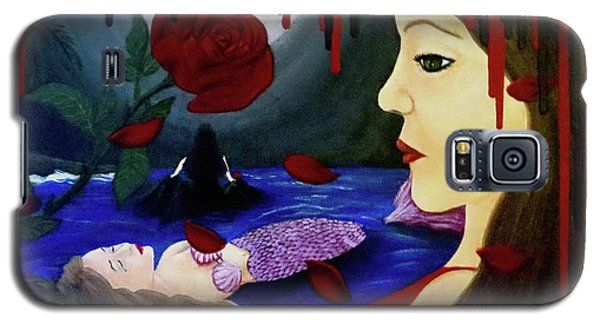 Galaxy S5 Case featuring the painting Betrayal by Teresa Wing
