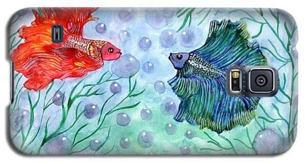 Betta Magic Galaxy S5 Case by Saranya Haridasan