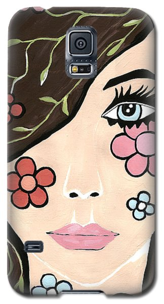 Galaxy S5 Case featuring the painting Betty by Kathleen Sartoris
