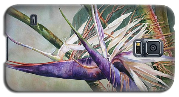 Betty's Bird - Bird Of Paradise Galaxy S5 Case by Roxanne Tobaison