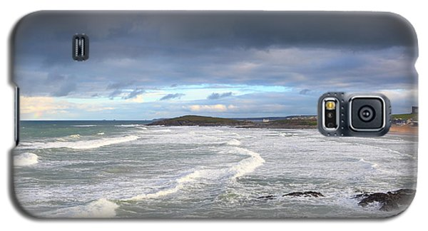 Galaxy S5 Case featuring the photograph Between Cornish Storms 1 by Nicholas Burningham