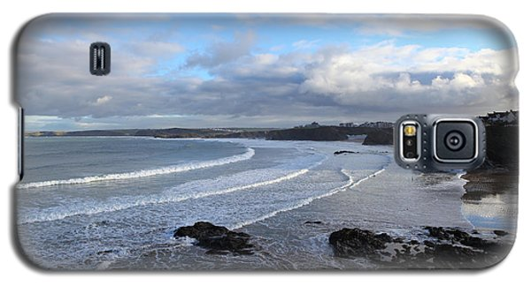 Galaxy S5 Case featuring the photograph Between Cornish Storms 2 by Nicholas Burningham
