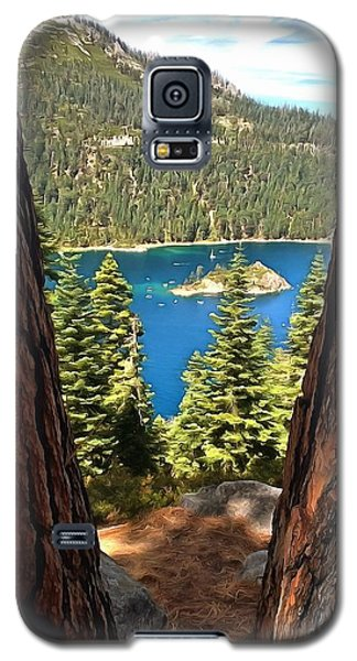 Between The Pines Galaxy S5 Case