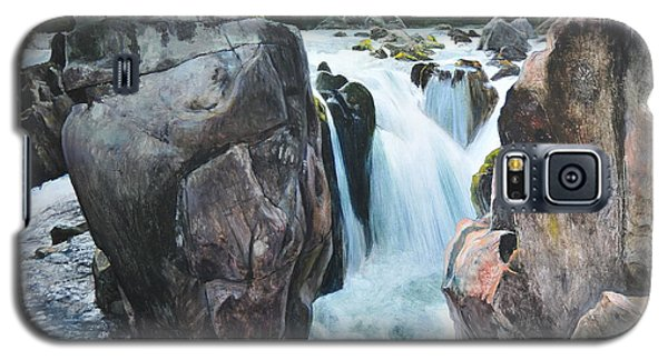 Betws-y-coed Waterfall In North Wales Galaxy S5 Case by Harry Robertson