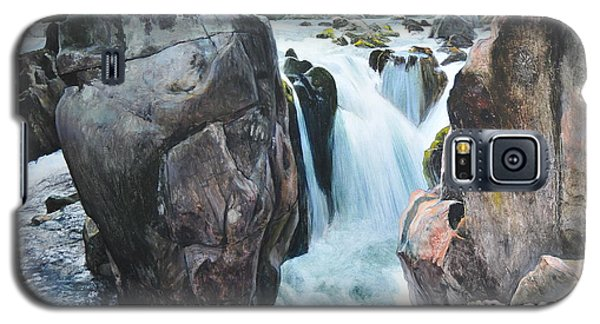 Betws-y-coed Waterfall In North Wales Galaxy S5 Case