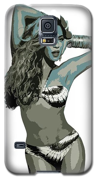 Beyonce Cutout Art Galaxy S5 Case