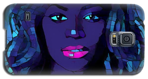 Beyonce Graphic Abstract Galaxy S5 Case by Dan Sproul