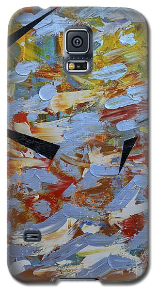 Galaxy S5 Case featuring the painting Beyond Undulation by Theresa Kennedy DuPay
