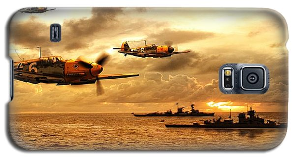 Bf 109 German Ww2 Galaxy S5 Case by John Wills