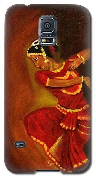 Bharatnatyam Dancer Galaxy S5 Case