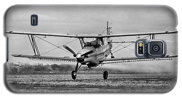 Bi-winged Crop Duster B N W Galaxy S5 Case