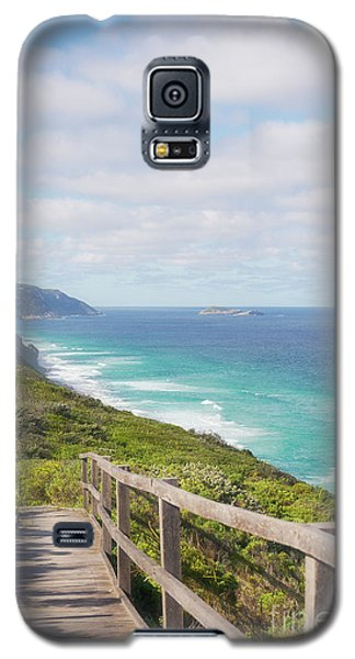 Galaxy S5 Case featuring the photograph Bibbulmun Track Albany Wind Farm by Ivy Ho