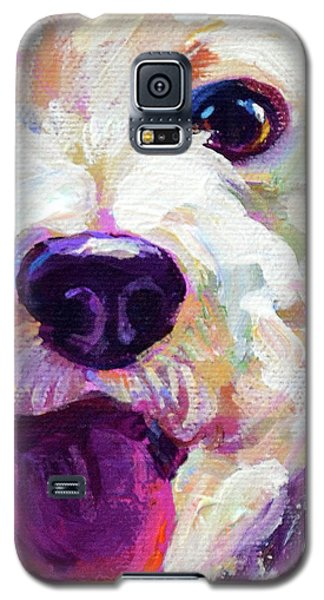Bichon Frise Face Galaxy S5 Case