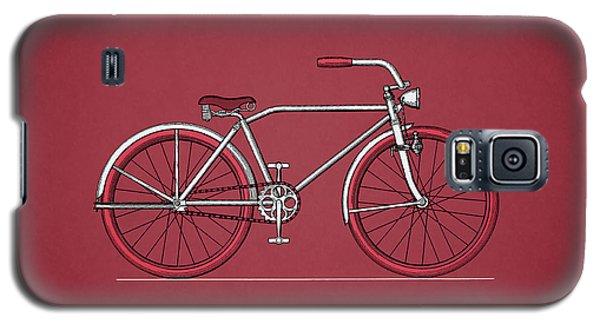 Bicycle 1935 Galaxy S5 Case by Mark Rogan