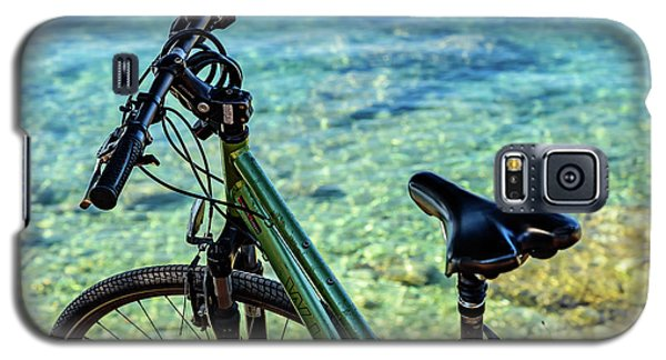 Bicycle By The Adriatic, Rovinj, Istria, Croatia Galaxy S5 Case