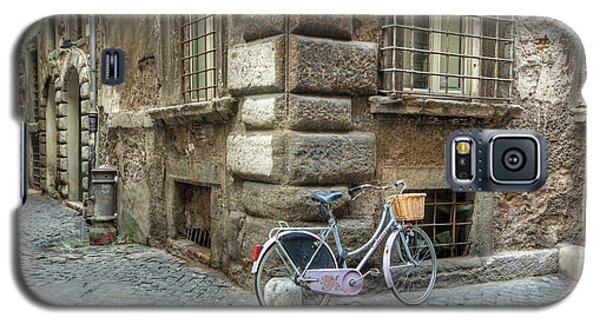 Bicycle In Rome Galaxy S5 Case