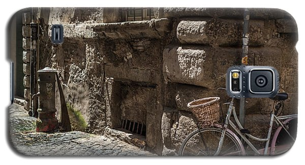 Bicycle In Rome, Italy Galaxy S5 Case