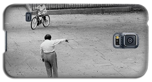 Bicycle Lesson Schurz Park Galaxy S5 Case