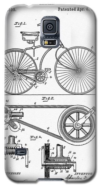 Bicycle Patent 1890 Galaxy S5 Case