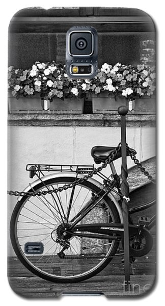 Bicycle With Flowers Galaxy S5 Case