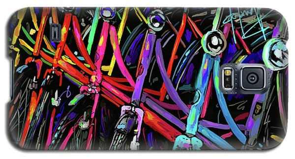Bicycles In Amsterdam Galaxy S5 Case