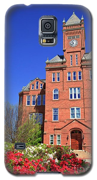Biddle Hall In The Spring Galaxy S5 Case