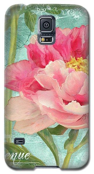 Bienvenue - Peony Garden Galaxy S5 Case