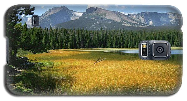 Autumn At Bierstadt Lake Galaxy S5 Case