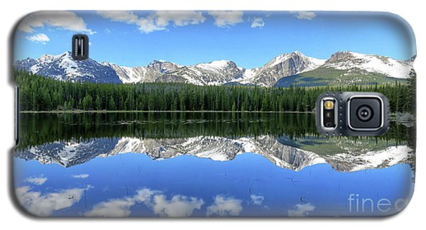 Bierstadt Lake In Rocky Mountain National Park Galaxy S5 Case by Ronda Kimbrow
