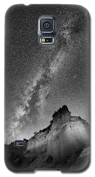 Galaxy S5 Case featuring the photograph Big And Bright In Black And White by Stephen Stookey