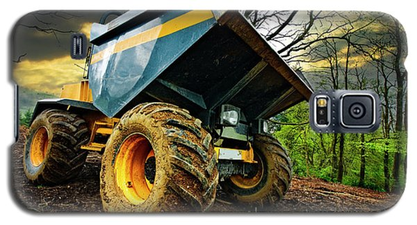 Big Bad Dumper Truck Galaxy S5 Case