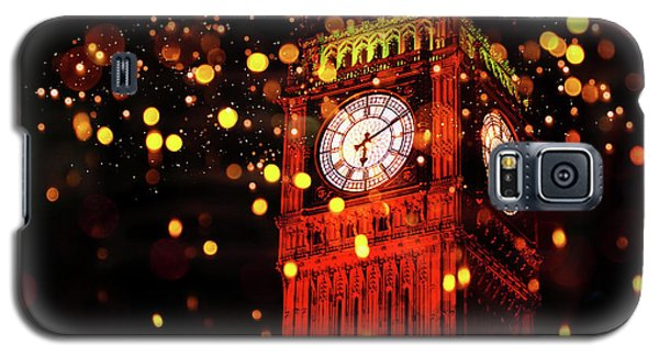 Big Ben Aglow Galaxy S5 Case