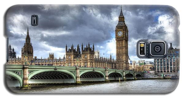 Big Ben And Thames Galaxy S5 Case by Shawn Everhart