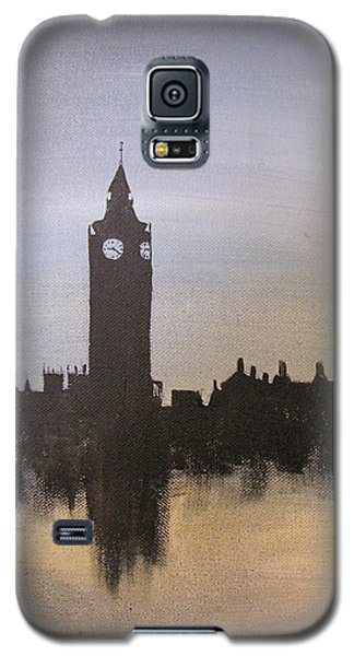 Galaxy S5 Case featuring the painting Big Ben Of London by Gary Smith