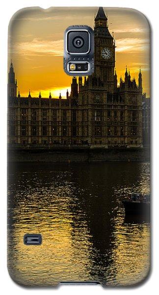 Big Ben Tower Golden Hour In London Galaxy S5 Case