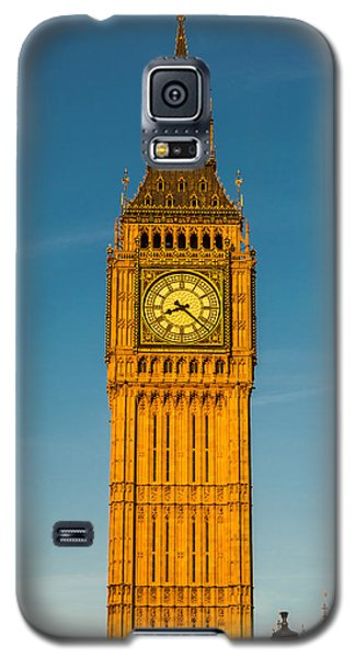 Big Ben Tower Golden Hour London Galaxy S5 Case
