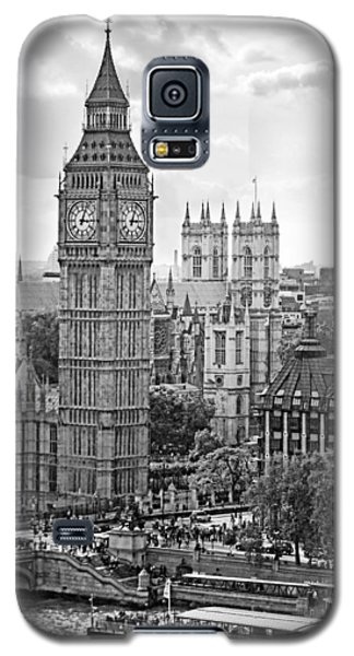 Big Ben With Westminster Abbey Galaxy S5 Case
