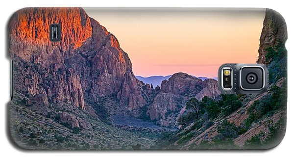Big Bend Dawn Galaxy S5 Case