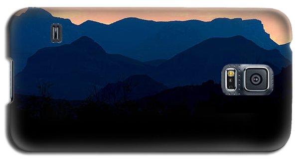 Big Bend Orange Blue Layers Galaxy S5 Case
