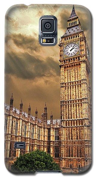 Big Ben's House Galaxy S5 Case by Meirion Matthias